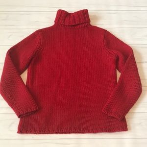 Gap women's size large red sweater